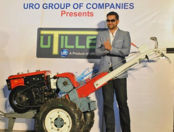 Aftab & Nisha Kothari Launches Uro Groups Power Tiller