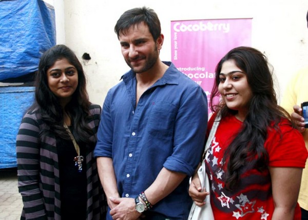 Cocoberry Contest Winners Meet Saif Ali Khan in Mumbai