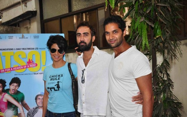 Fatso Special Screening At PVR, Juhu