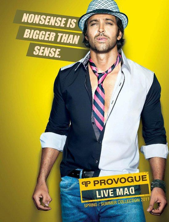 Hrithik Roshan Provogue Ad images