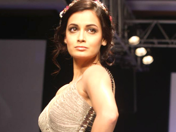 Lakme Fashion Week 2012 - Khushali Kumar & Dia Mirza - Day 1