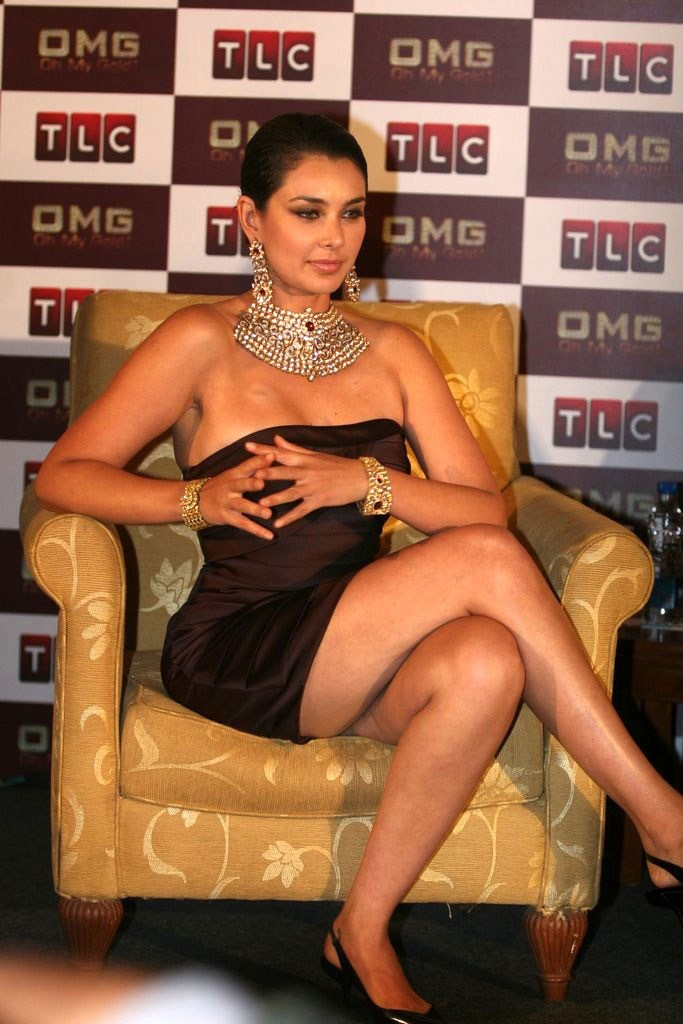 Lisa Ray at TLC Oh My Gold Show Launch