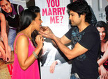 Mugdha and Rajeev promote 'Will You Marry Me?'