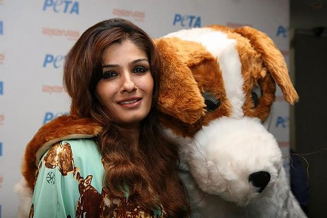 Raveena Tandon on the Promotion of PETA