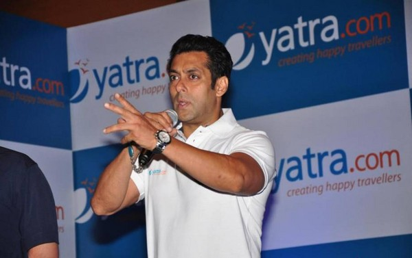 Salman Khan Brand Ambassador for Yatra.com - Press Meet