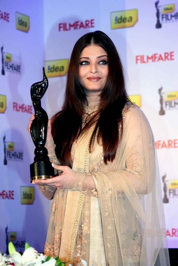 Aishwarya Rai Bachchan at 58th Filmfare Awards Press Conference in Mumbai
