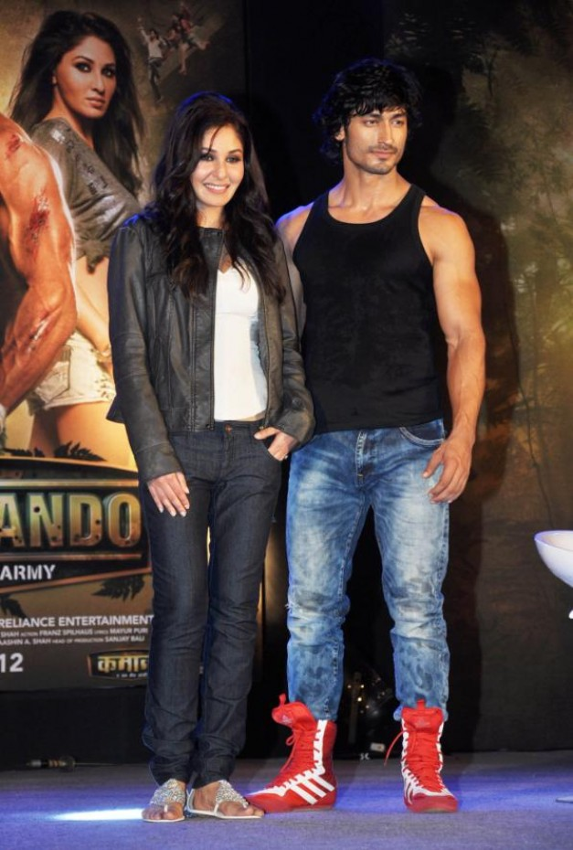 Commando Movie First Look Launch
