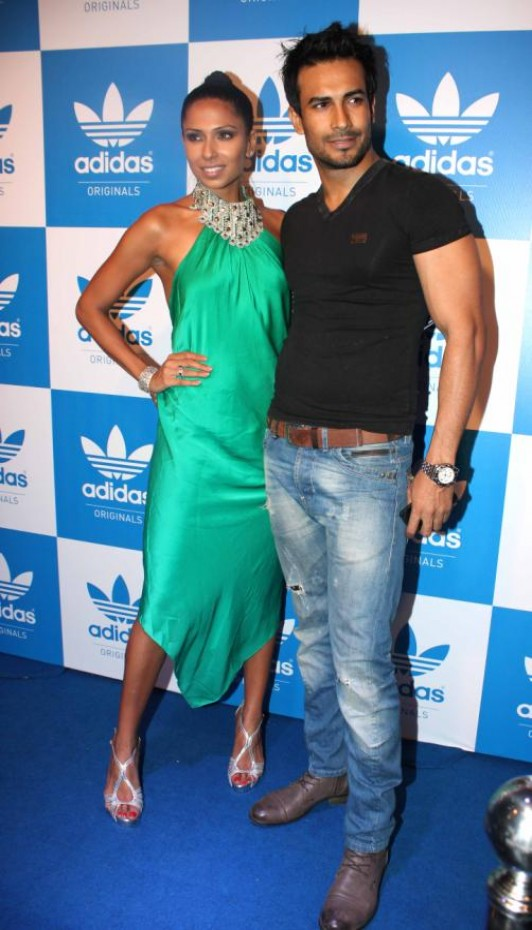 Ranveer Singh, Minissha Lamba & Evelyn Sharma at Snoop Dogg-Adidas Pre-Show Party