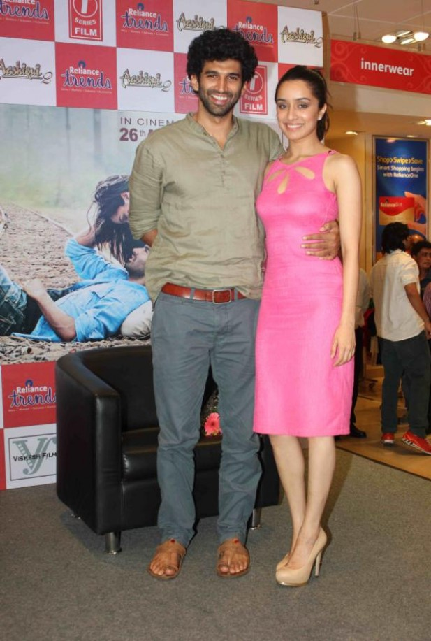 'Aashiqui 2' Cast at Rio Collection Launch