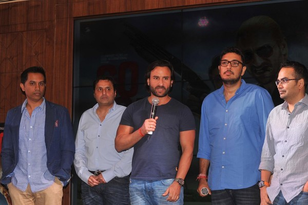Music Launch of 'Go Goa Gone' Movie - Saif Ali Khan, Kunal Khemu, Puja Gupta, Vir Das, Anand Tiwari