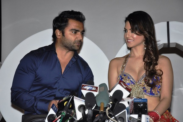 Sunny Leone at 'XXX' Energy Drink Launch Photo Call