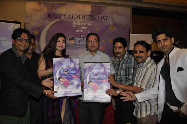 Alka Yagnik and Kapil Ronak at Anand Milind's 'Lories' Music Album Launch