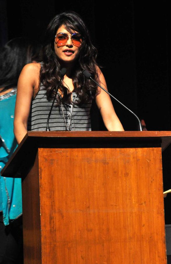 Priyanka Chopra at the Samantha Edwards Muzicworks Event at St. Andrews Auditorium