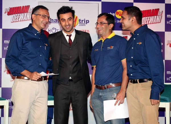 Ranbir Kapoor at 'Yeh Jawaani Hai Deeewani' Promotion Event in association with MakeMyTrip