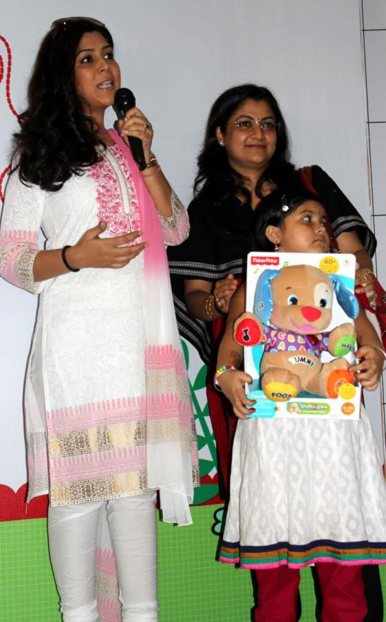 Sakshi Tanwar, Amrita Mukherjee at Fisher Price's Mother's Day Celebration Event