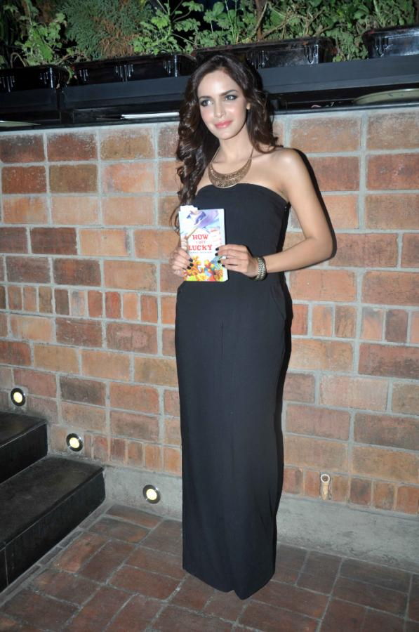 Shazahn Padamsee at 'How I Got Lucky' Book Launch in Mumbai