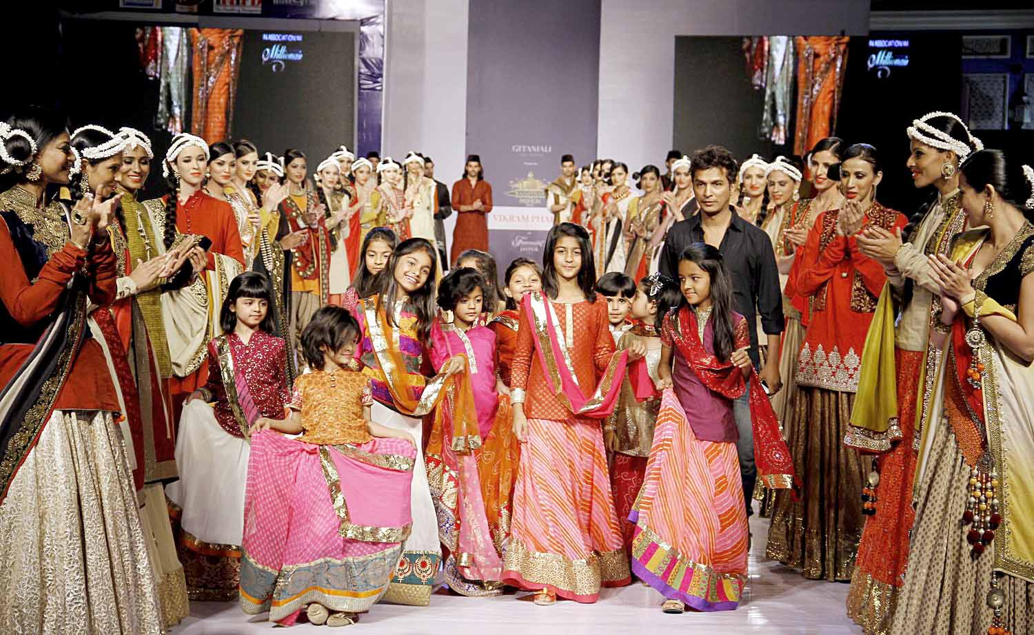 Vikram Phadnis Collection at Rajasthan Fashion Week 2013 ...