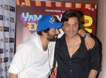 'Yamla Pagla Deewana 2' Movie Promotion in Bangalore - Sunny Deol and Bobby Deol