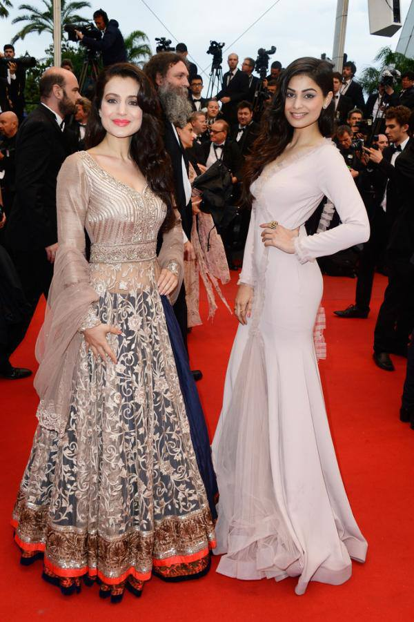 Ameesha Patel and Puja Gupta at the Premiere of 'All is Lost' at Cannes 2013