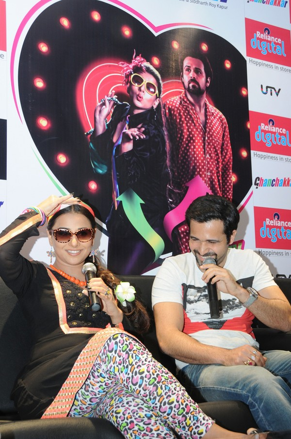 'Ghanchakkar' Movie Promotion in Bengaluru - Vidya Balan, Emraan Hashmi