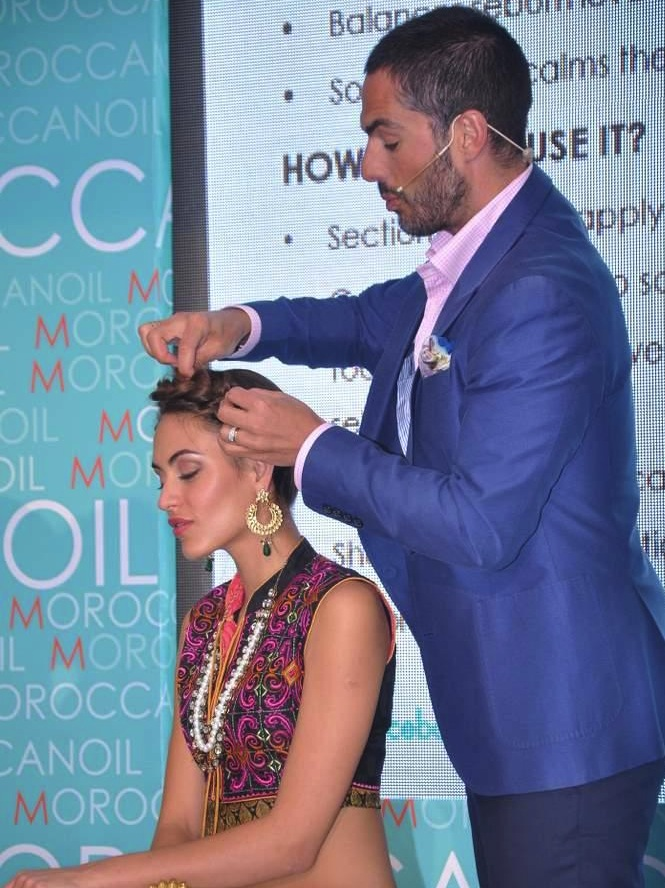 Leading Models at Moroccanoil Launch