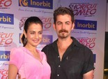 'Shortcut Romeo' Promotion with Kids at Vidya Nidhi School - Ameesha Patel, Neil Mukesh, Susi Ganesan