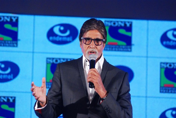 Sony Channel's New Fiction Show Press Meet - Amitabh Bachchan, Anurag Kashyap