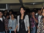 Amrita Rao promoting 'Satyagraha' at IIT Bombay