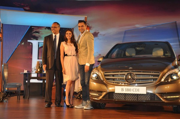 Mercedes Benz's New B Class Diesel Car Launch - Aditi Rao Hydari, Abhay Deol
