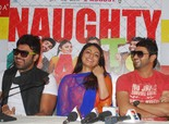'Naughty Jatts' Press Conference in Amritsar - Neeru Bajwa, Aarya Babbar, Roshan Prince