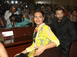 Ranveer Singh, Sonakshi Sinha promoting 'Lootera' at Sharda University