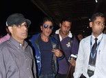 Shahrukh Khan Leaving for London for 'Chennai Express' promotions