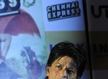 Shahrukh Khan promoting 'Chennai Express' in Kolkata