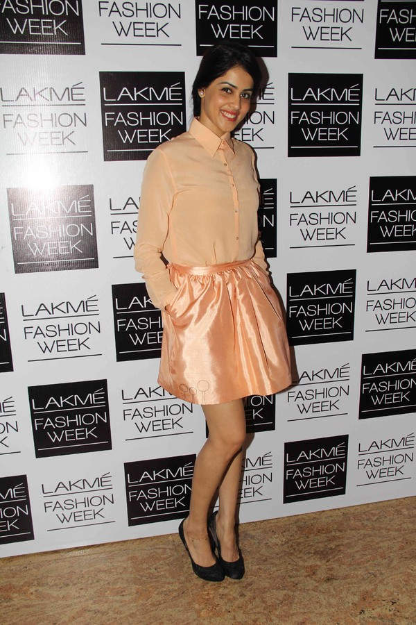 Bollywood Celebs at Lakme Fashion Week Winter-Festive 2013 - Day 1