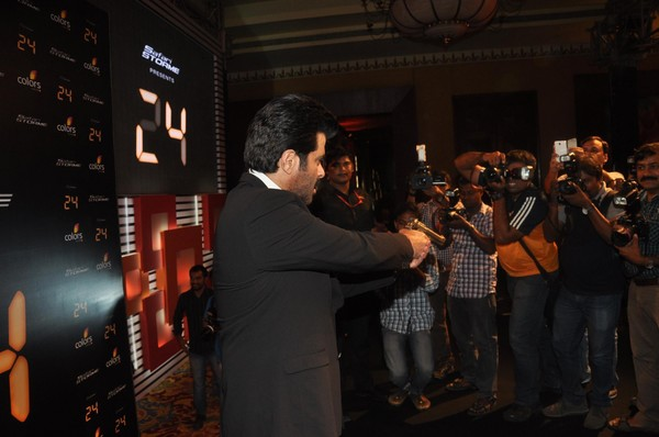 #24 TV Show (India) Launch - Anil Kapoor, Mandira Bedi, Tisca Chopra